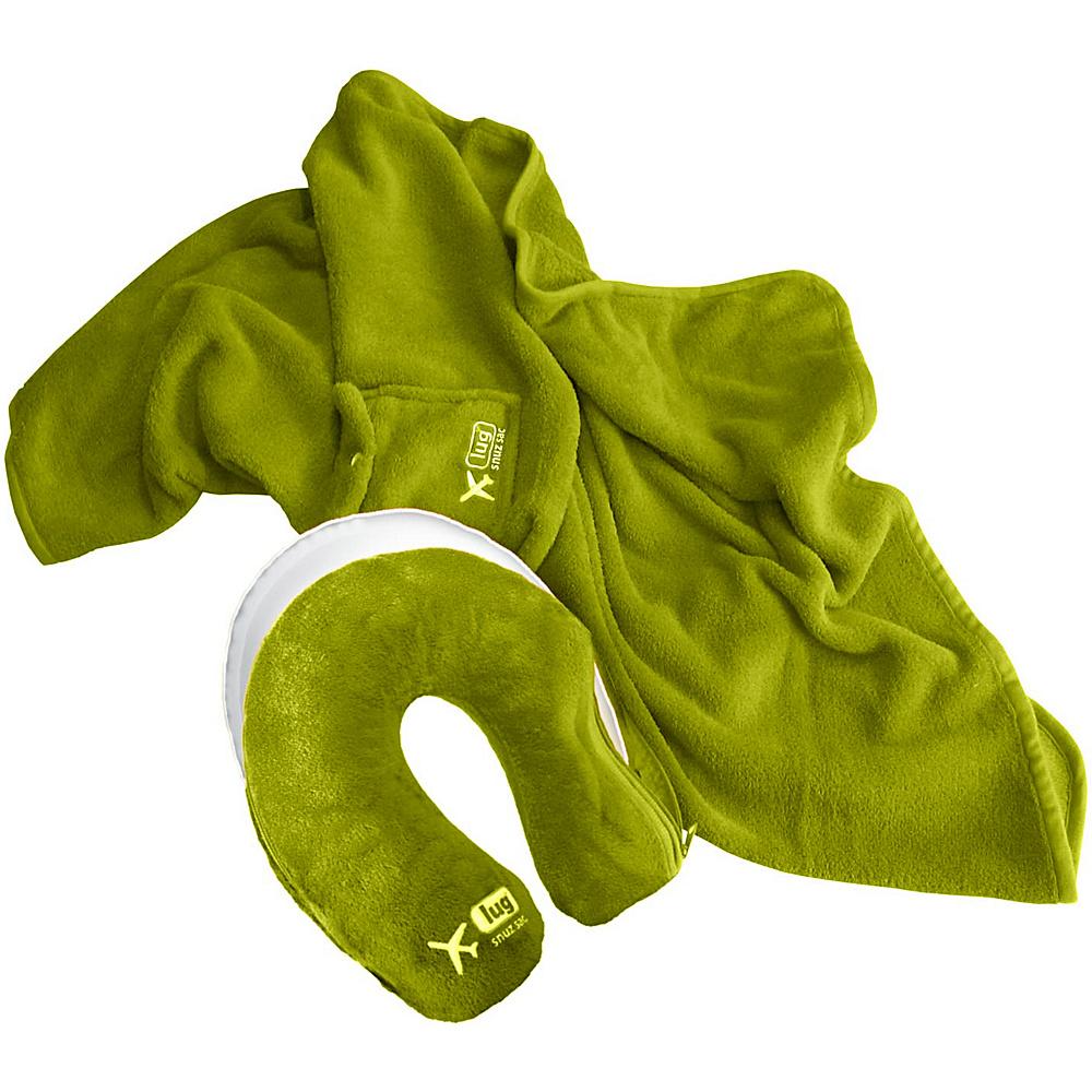Lug Life Snuz Sac U Blanket Pillow Grass