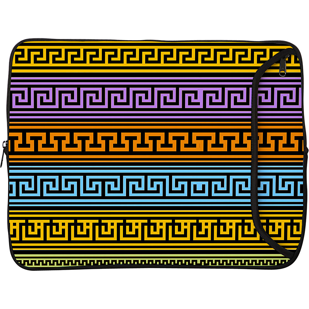 Designer Sleeves 8.9 10 iPad Netbook Designer Sleeve Greek Patterns Designer Sleeves Electronic Cases