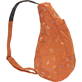 Healthy Back Bag Dragon Fly Print Burnt Orange