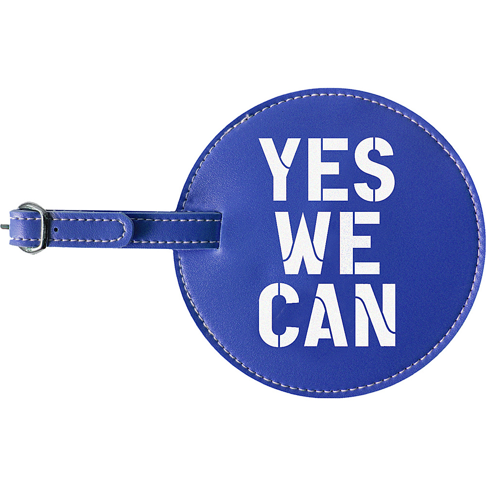 pb travel Yes We Can Luggage Tag Blue pb travel Luggage Accessories