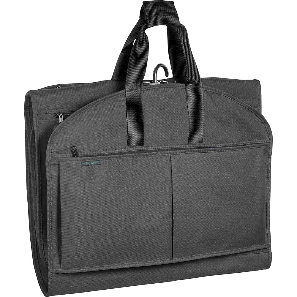 Wally Bags 52 GarmenTote Tri Fold Black