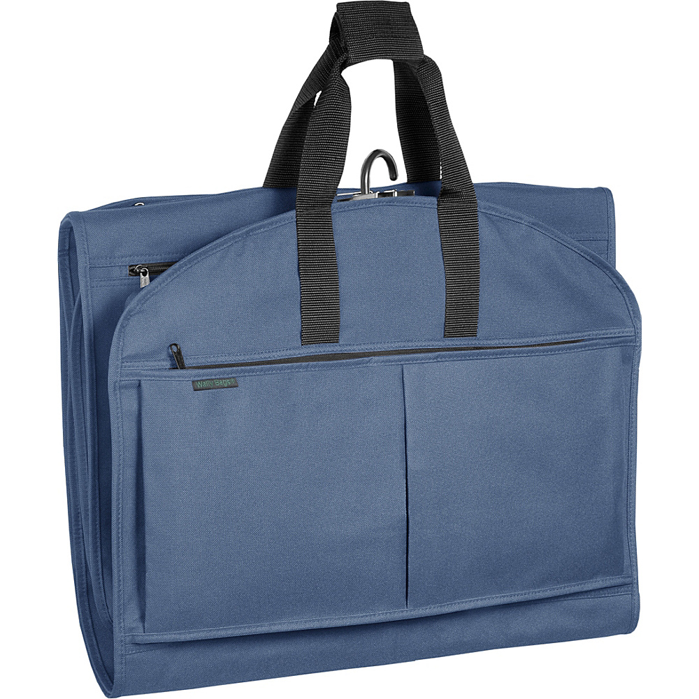 Wally Bags 52 GarmenTote Tri Fold Navy