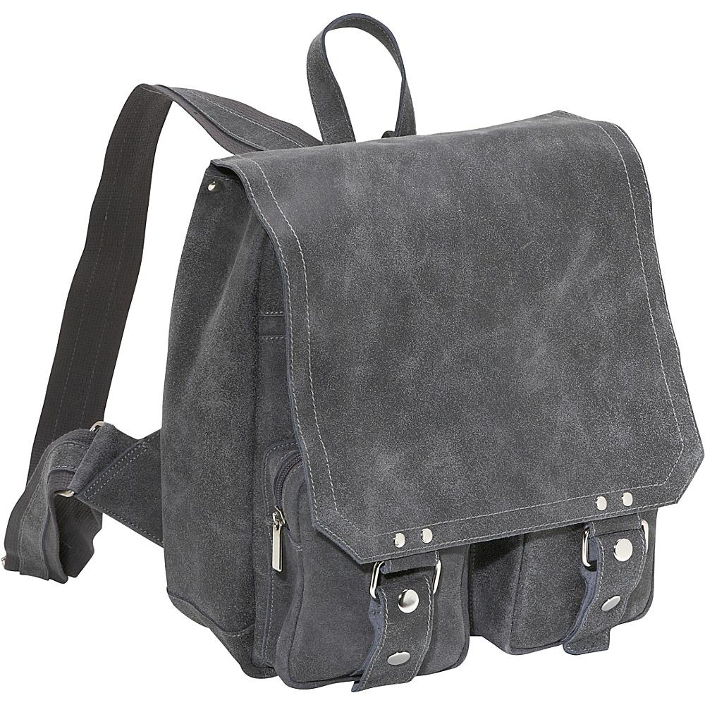 David King & Co. Distressed Leather Laptop Backpack - Backpacks, Business & Laptop Backpacks