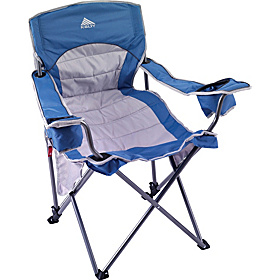 Deluxe Lounge Chair Blue