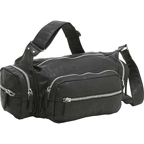 Ashley M Alexandria Zipper Shoulder Bag - Shoulder Bag
