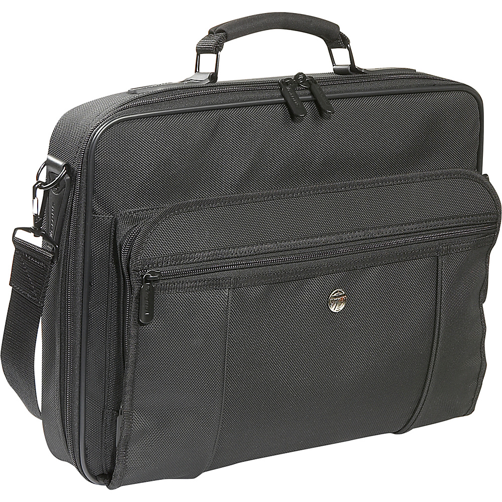 Targus 15.4 Premiere Laptop Case - Black - Work Bags & Briefcases, Non-Wheeled Business Cases