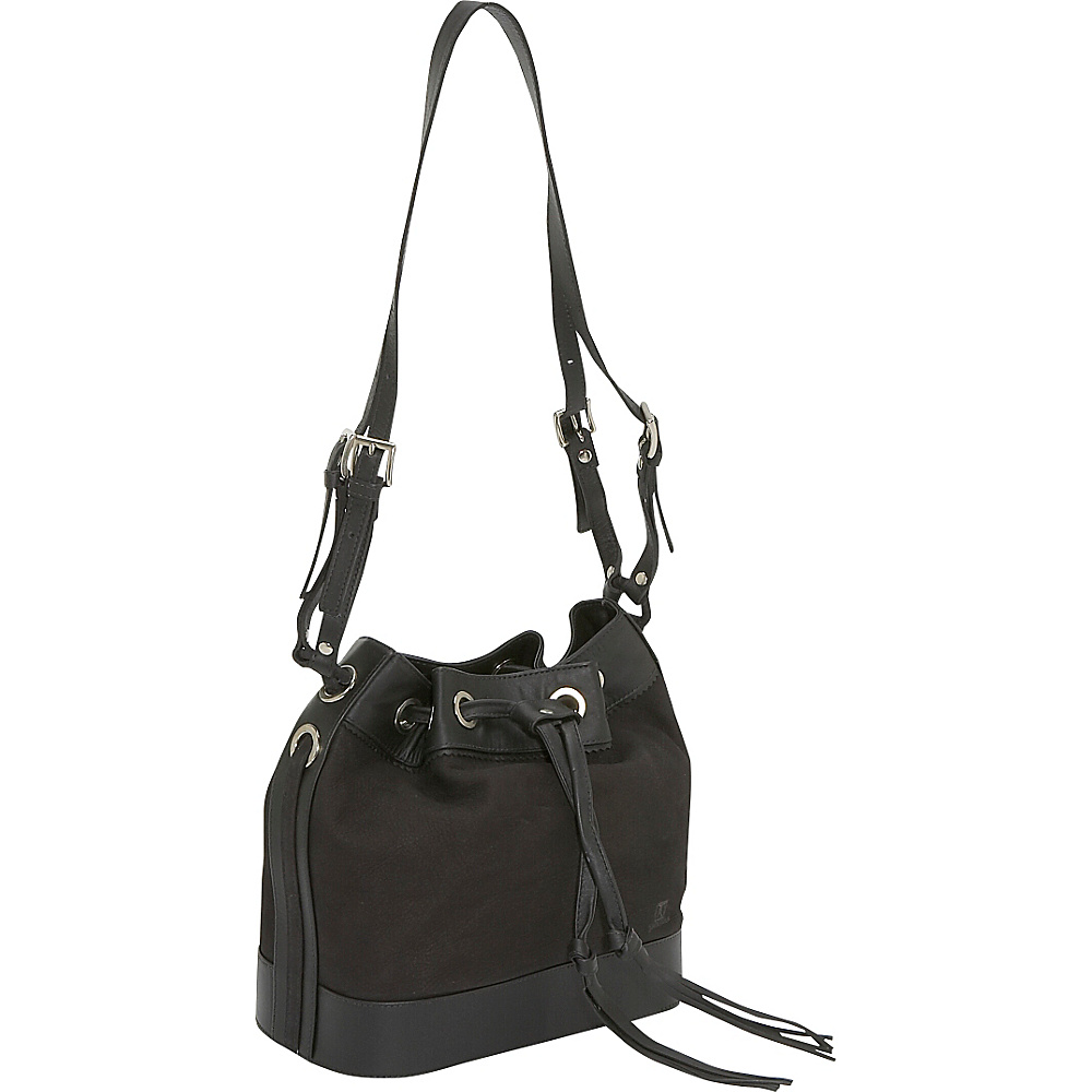 John Cole Verity - Black with Panther - Handbags, Leather Handbags