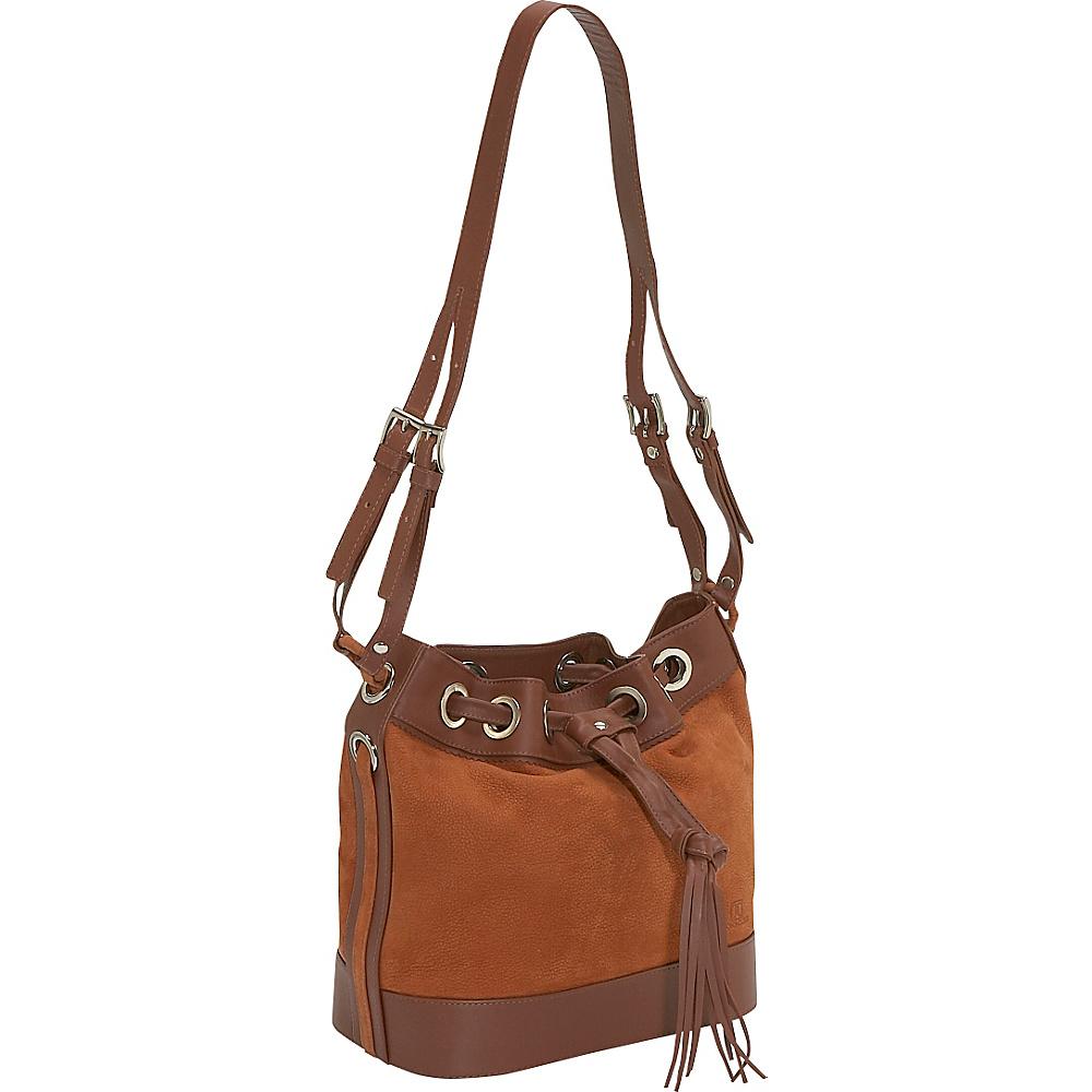 John Cole Verity - Coffee/Camel - Handbags, Leather Handbags