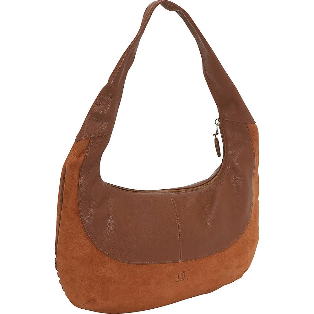 John Cole Charlize - Camel/Earth - Handbags, Leather Handbags