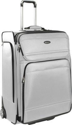 Samsonite DKX 29 Exp Upright Silver Samsonite Large Rolling Luggage