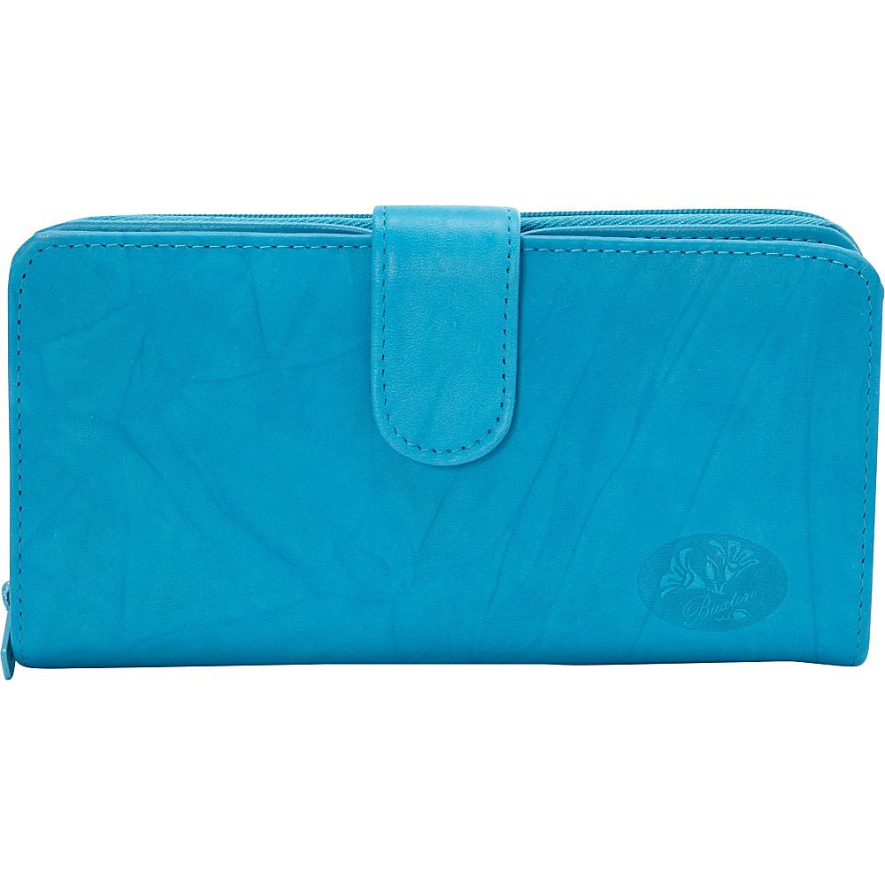 Buxton Heiress Ensemble Clutch-Exclusive Colors Blue Jewel - Exclusive Color - Buxton Womens Wallets - Women's SLG, Women's Wallets