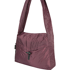 Stow-Away Messenger Bag Eggplant