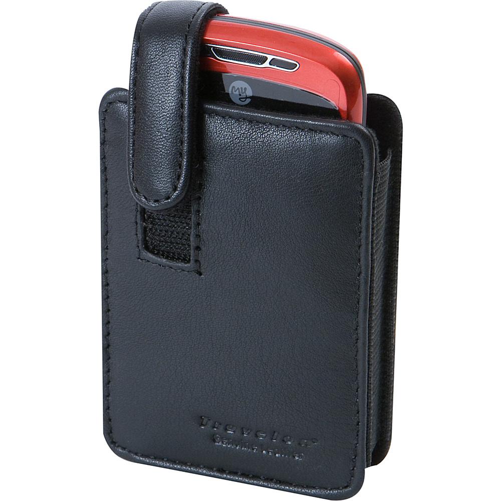 Travelon Leather Smart Phone Digital Camera Case