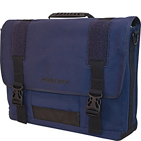 ECO Friendly Canvas Messenger - 17.3''  Navy