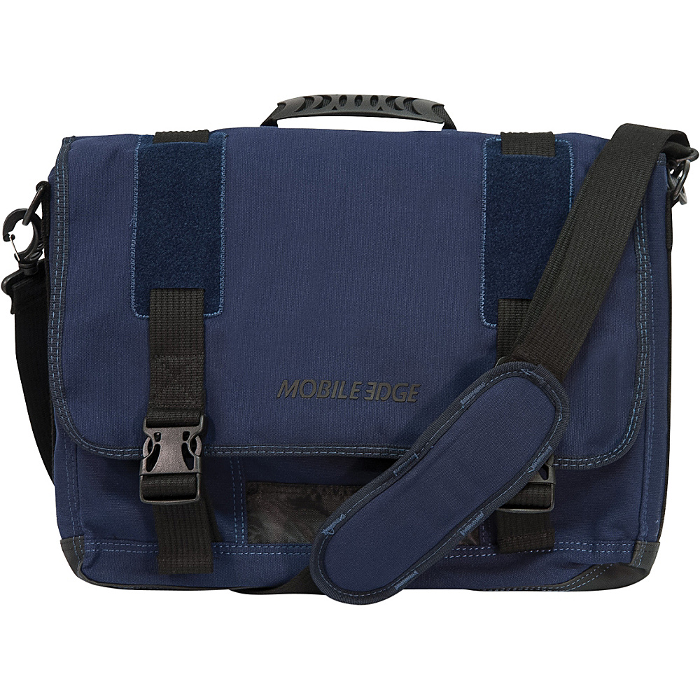 Mobile Edge ECO Friendly Canvas Messenger - 17.3 - Work Bags & Briefcases, Messenger Bags