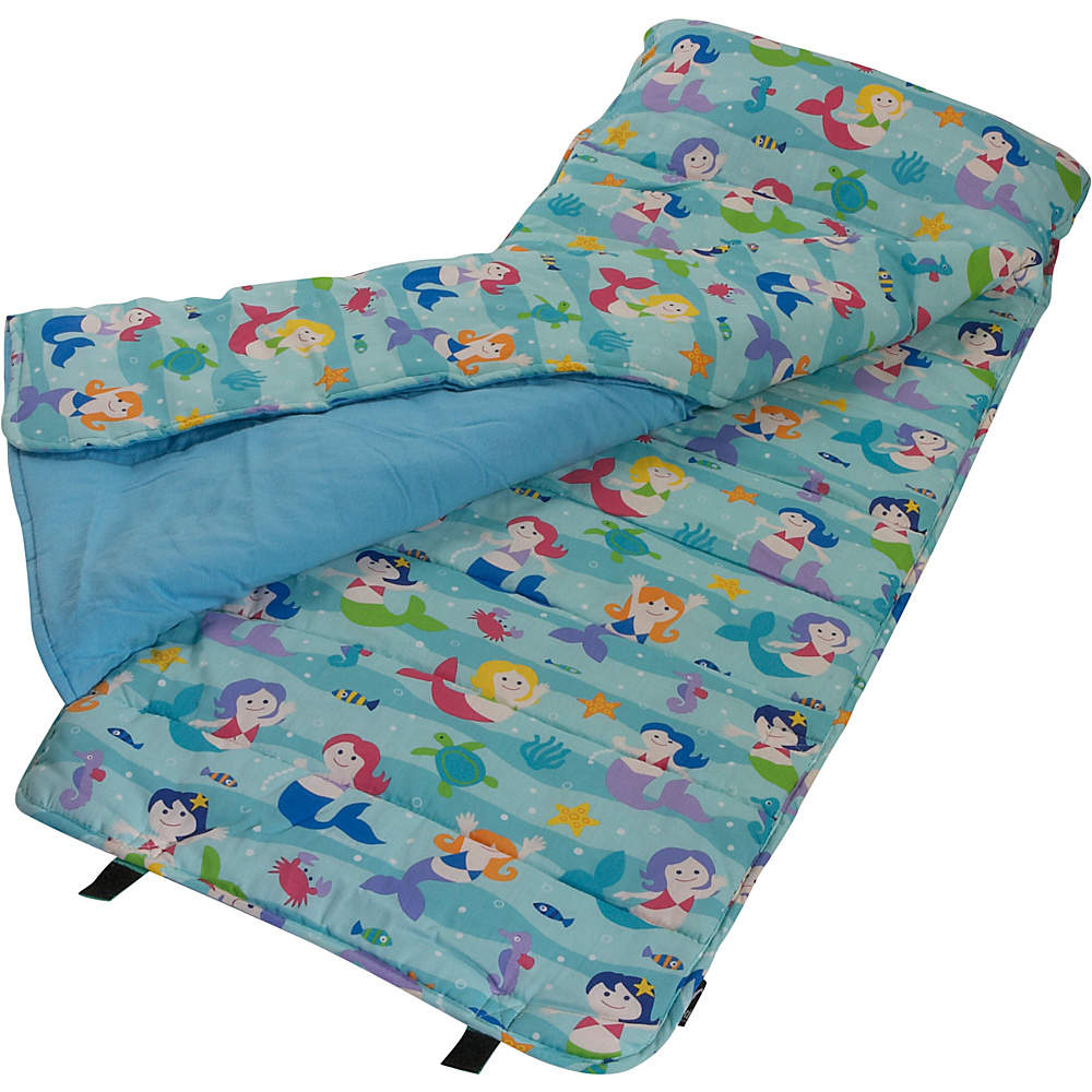 Wildkin Olive Kids Mermaids Nap Mat Olive Kids Mermaids - Wildkin Travel Pillows & Blankets - Travel Accessories, Travel Pillows & Blankets