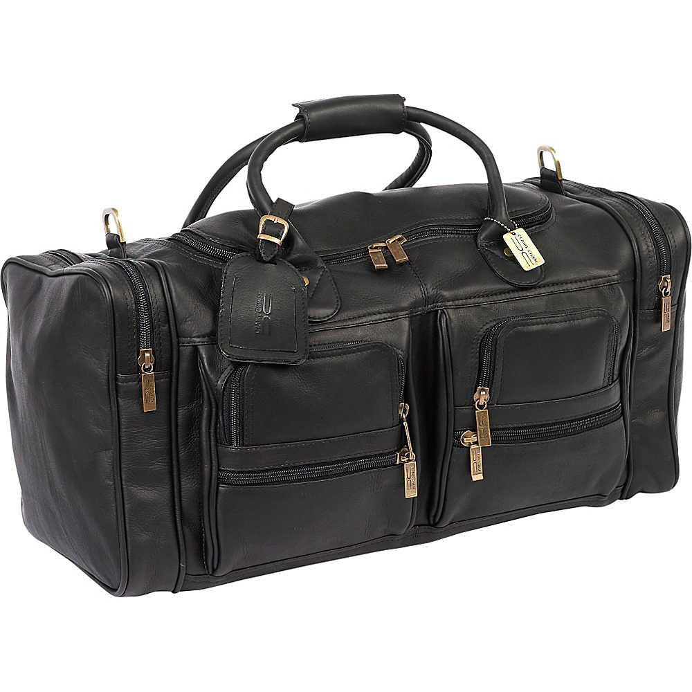 ClaireChase Executive Sport Duffel Black
