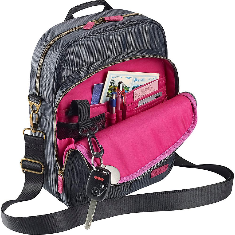 Lewis N. Clark Complete Travel Bag Charcoal - Lewis N. Clark Messenger Bags