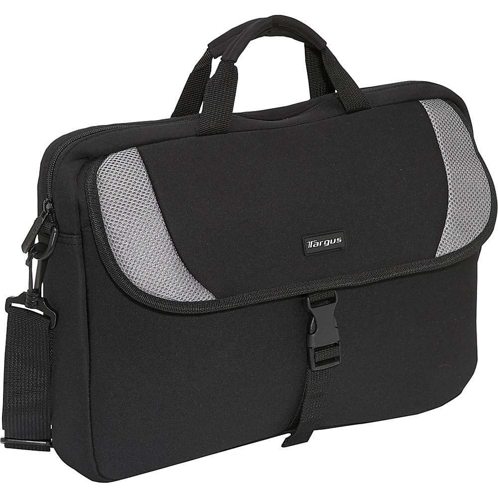 Targus 15.4 Laptop Sleeve Black Grey Targus Electronic Cases