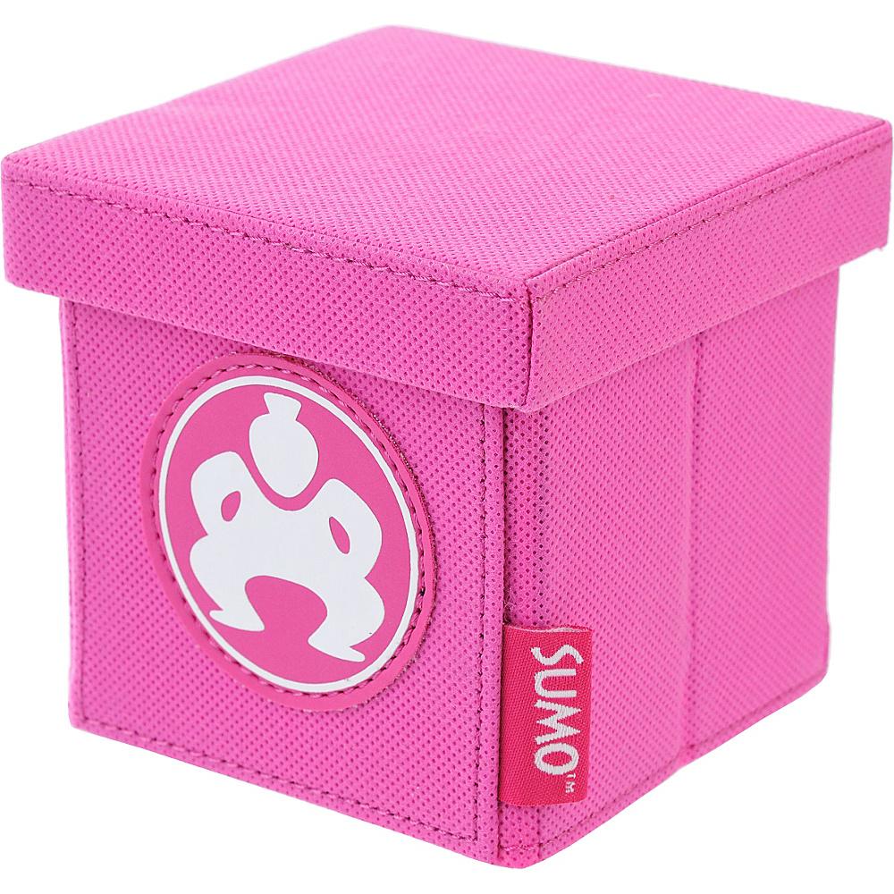 Sumo Sumo Folding Desktop Cube 4 Pink