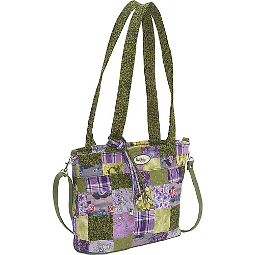 Donna Sharp Jenna Bag  Grape Patch - Shoulder Bag
