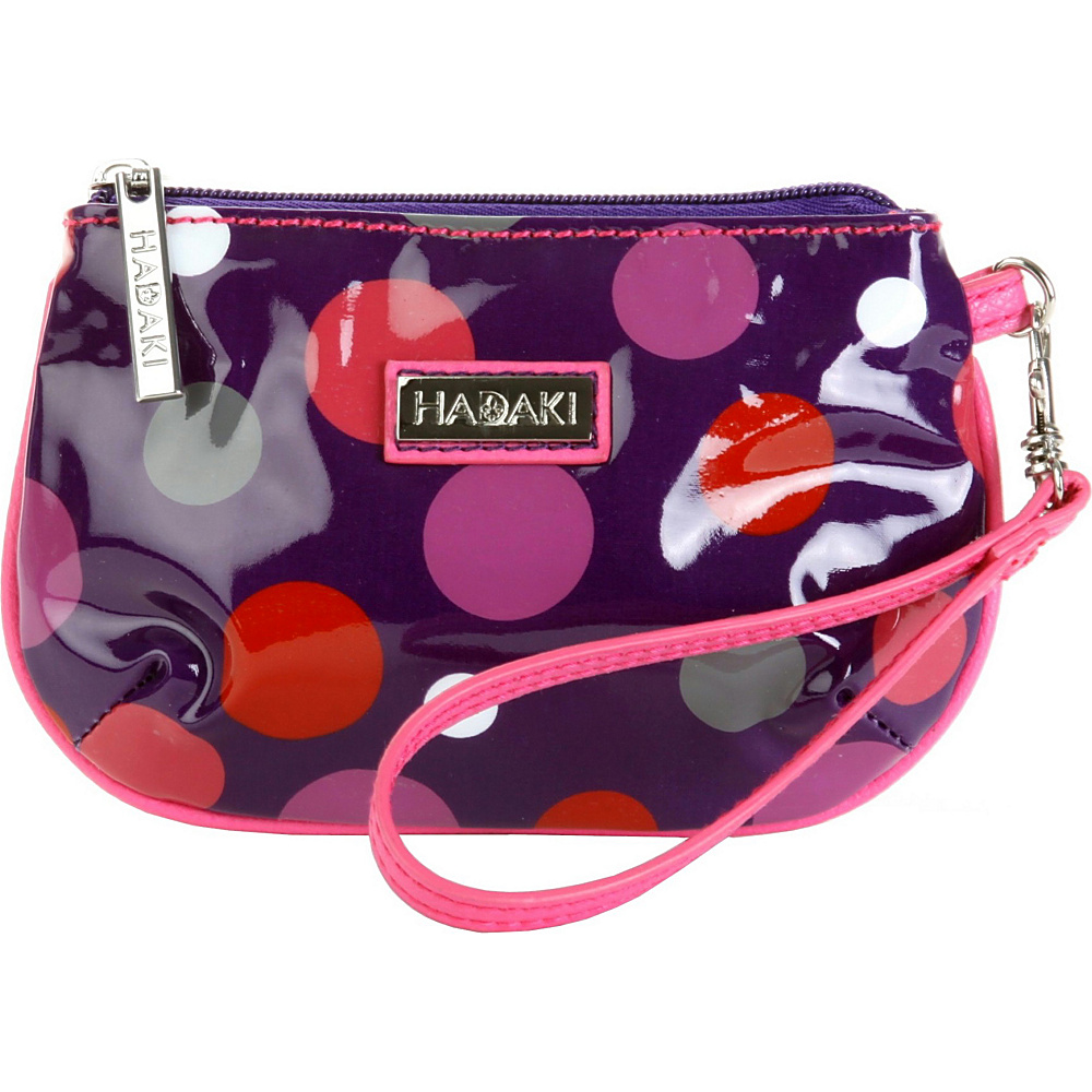 Hadaki ID Wristlet Bouncing Ball Berry