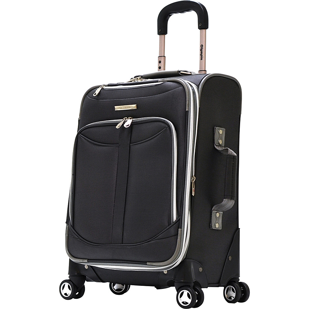 Olympia Tuscany 21 Exp. Airline Carry on Black Olympia Softside Carry On