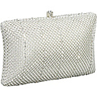 Buy Whiting and Davis Crystal Pillow Minaudiere by Whiting and Davis