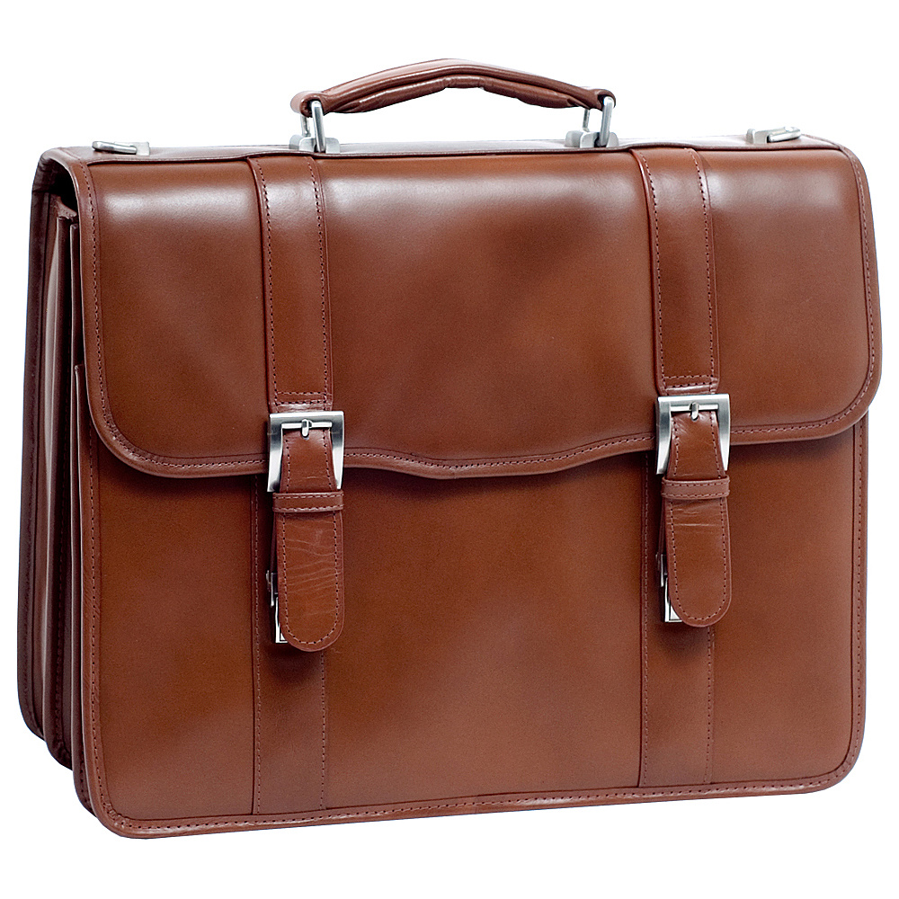 McKlein USA V Series Flournoy Leather Double - Work Bags & Briefcases, Non-Wheeled Business Cases