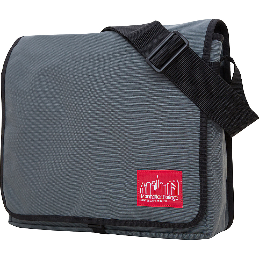 Manhattan Portage DJ Bag - Medium - Gray - Work Bags & Briefcases, Messenger Bags
