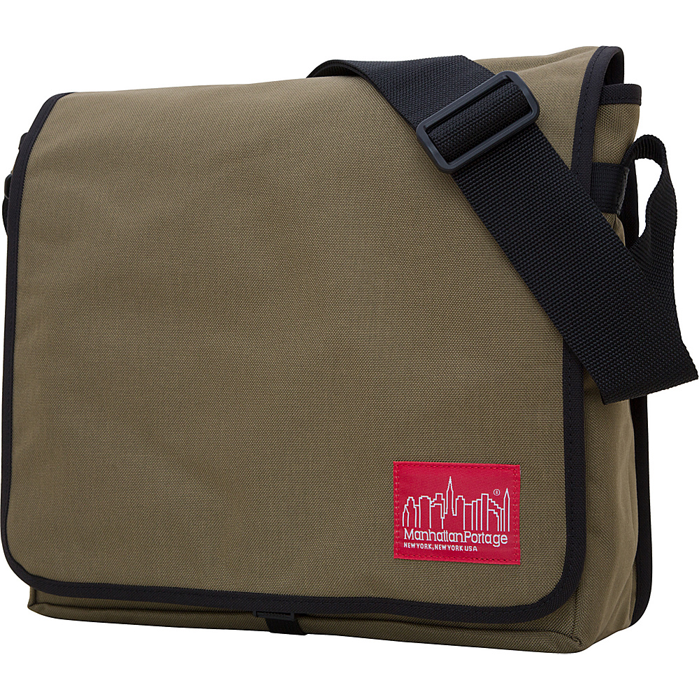 Manhattan Portage DJ Bag - Medium Khaki - Manhattan Portage Messenger Bags - Work Bags & Briefcases, Messenger Bags