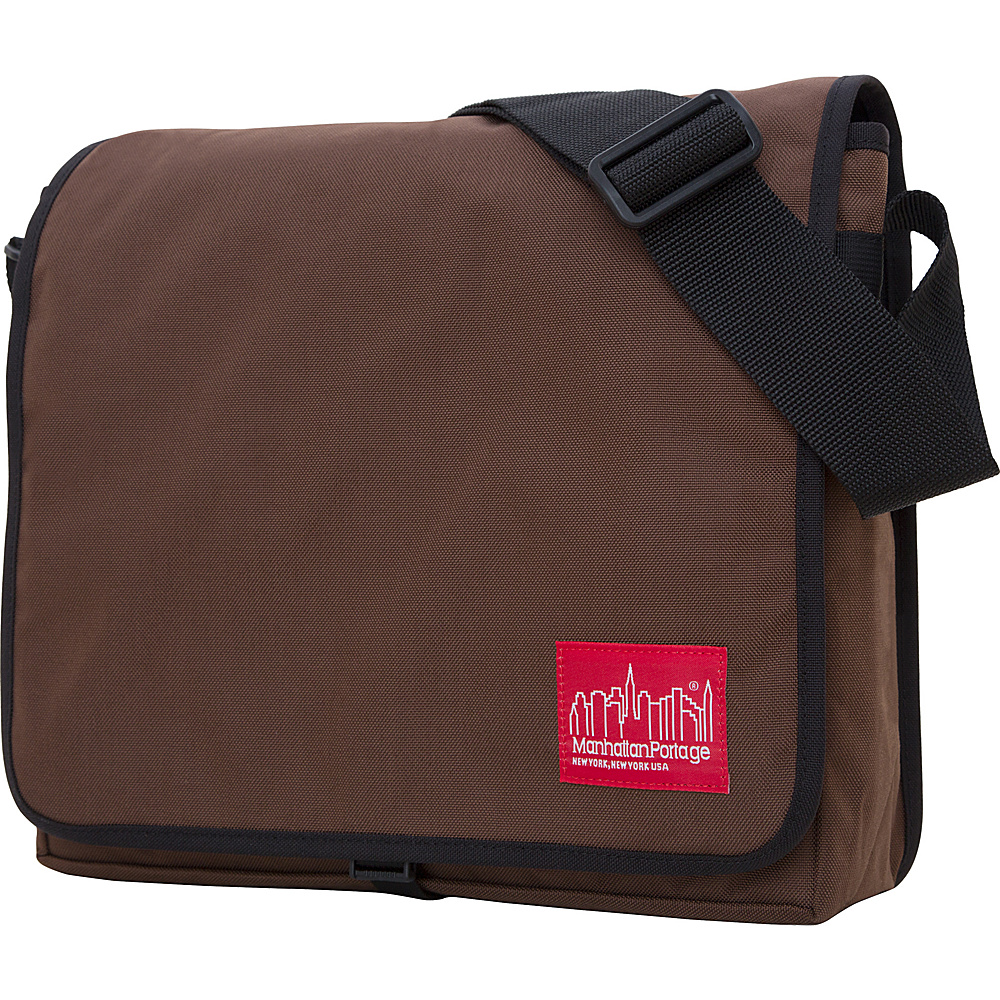 Manhattan Portage DJ Bag - Medium - Dk Brown - Work Bags & Briefcases, Messenger Bags