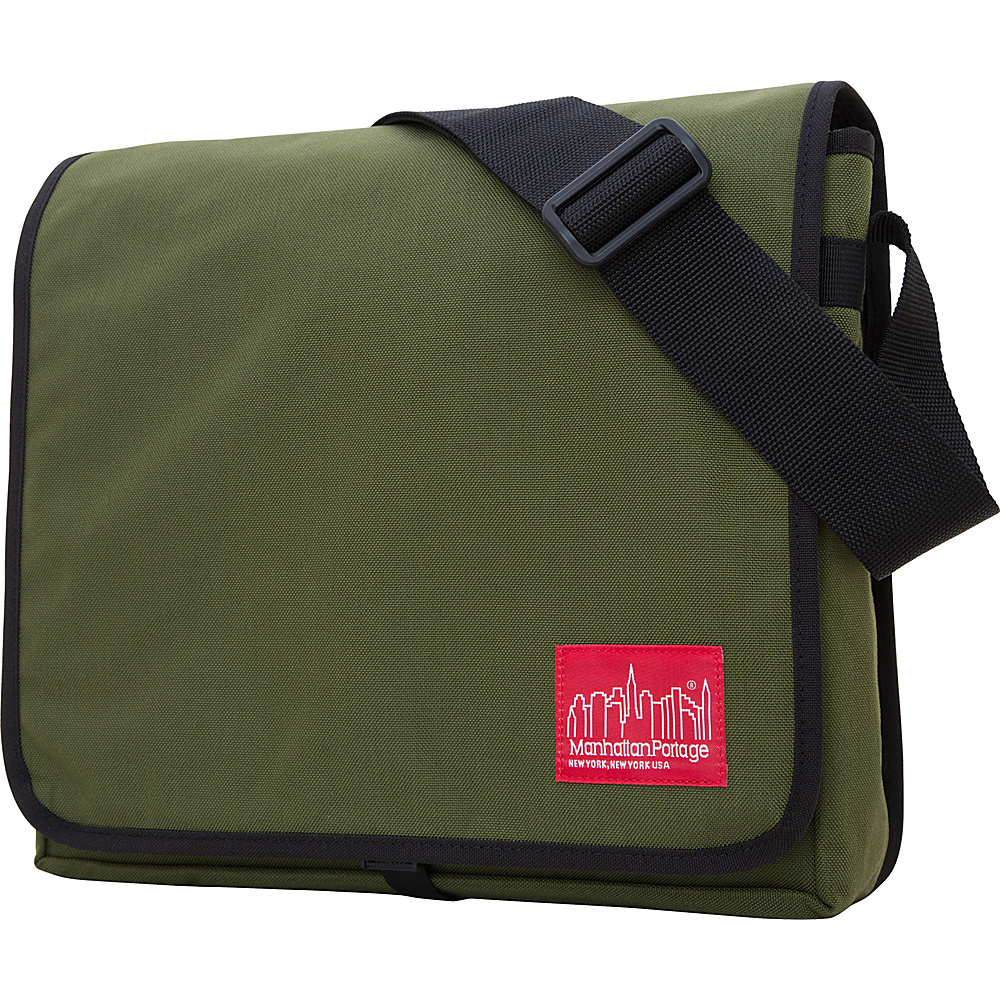 Manhattan Portage DJ Bag - Medium - Olive - Work Bags & Briefcases, Messenger Bags