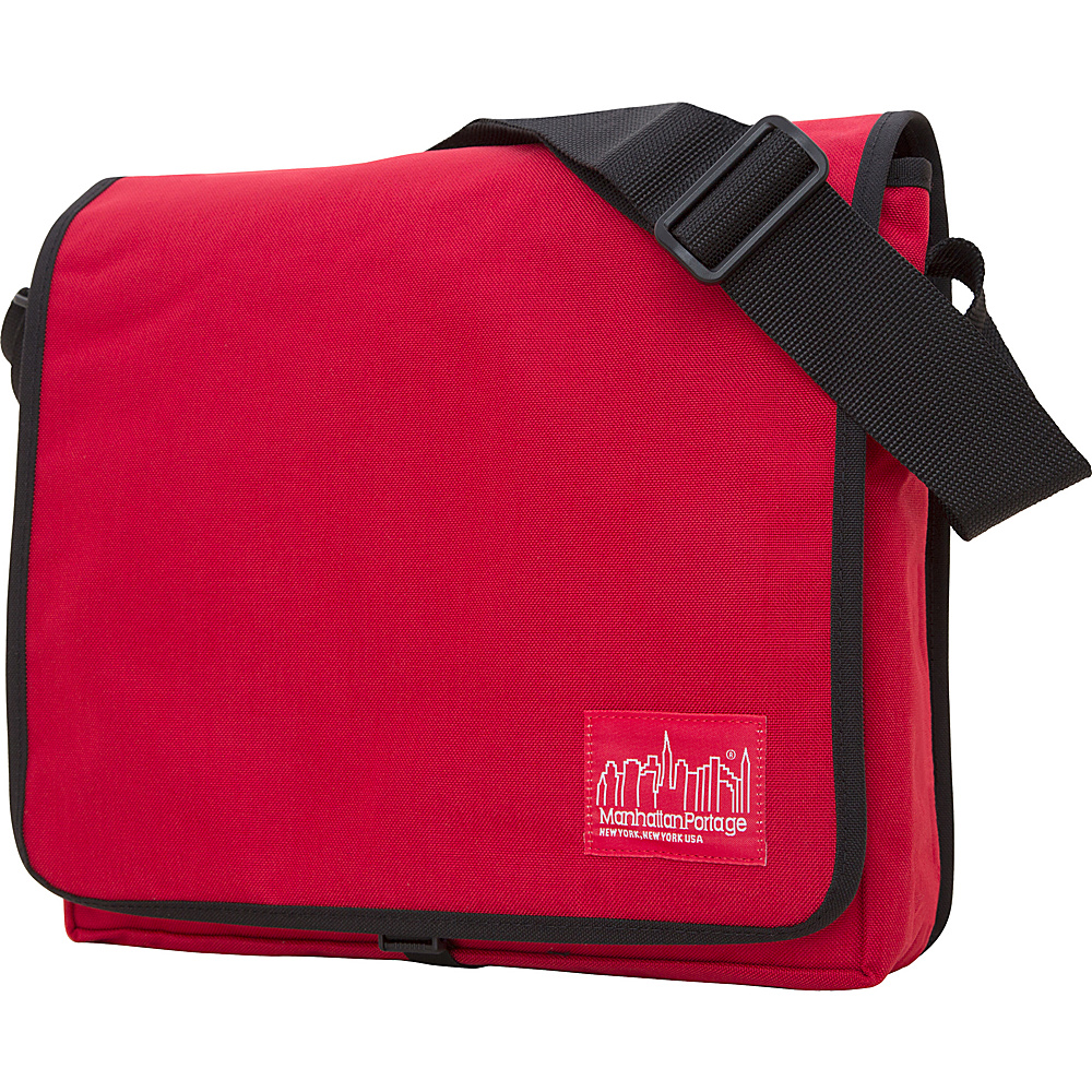 Manhattan Portage DJ Bag - Medium - Red - Work Bags & Briefcases, Messenger Bags