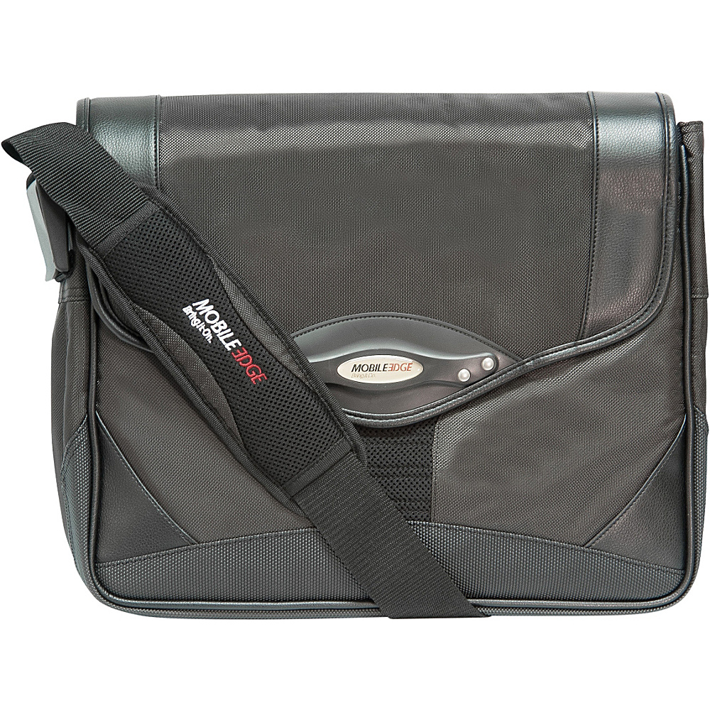 Mobile Edge Premium Messenger Bag - 15.4PC / 17 - Work Bags & Briefcases, Non-Wheeled Business Cases
