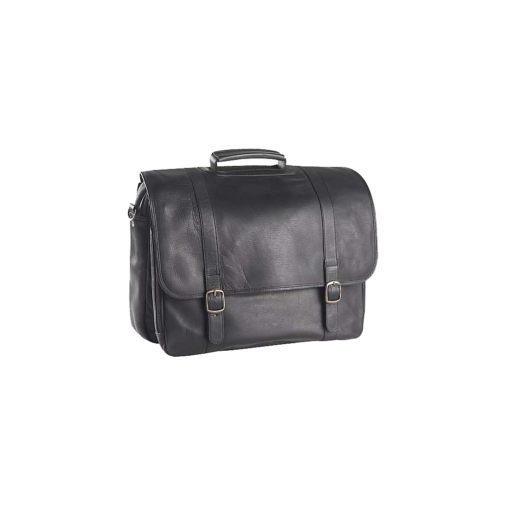 Clava Executive Laptop Briefcase - Tuscan Black - Work Bags & Briefcases, Non-Wheeled Business Cases