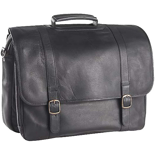 Clava Executive Laptop Briefcase - Tuscan Black