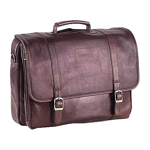 Clava Executive Laptop Briefcase - Tuscan Cafe