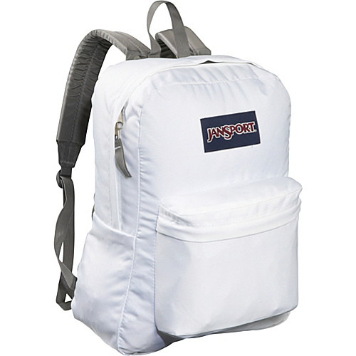 JanSport SuperBreak Backpack White - Backpacks, School & Day Hiking Backpacks