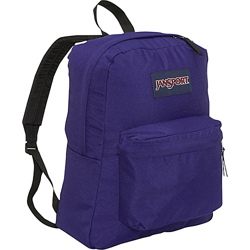 JanSport SuperBreak Backpack Electric Purple - Backpacks, School & Day Hiking Backpacks
