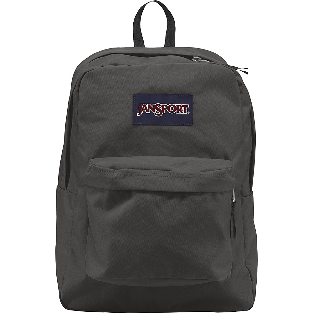 Jansport SuperBreak Backpack - Forge Grey - Backpacks, Everyday Backpacks