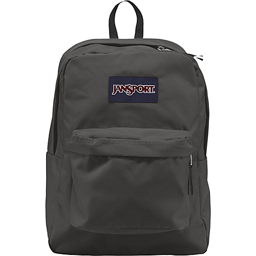 JanSport SuperBreak BackpackForge Grey - Backpacks, School & Day Hiking Backpacks