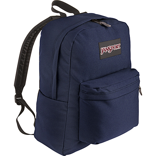 JanSport SuperBreak Backpack Navy - Backpacks, School & Day Hiking Backpacks