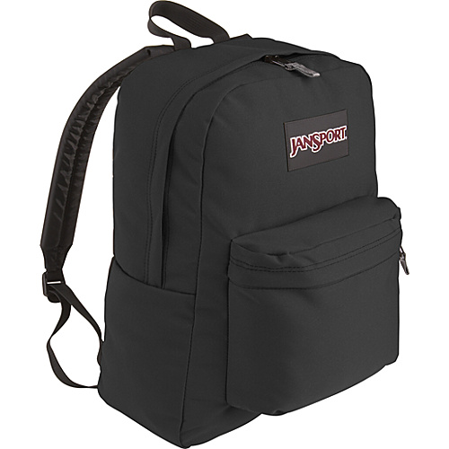 JanSport SuperBreak Backpack Black - Backpacks, School & Day Hiking Backpacks