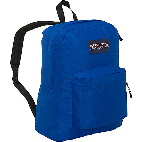 JanSport SuperBreak Backpack Blue Streak - Backpacks, School & Day Hiking Backpacks