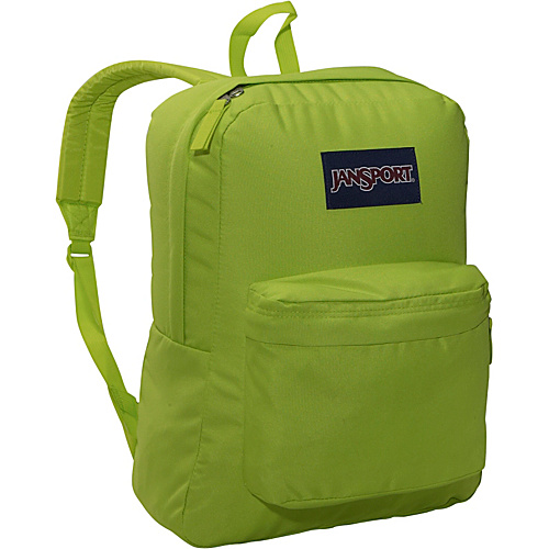 JanSport SuperBreak Backpack Alien Green - Backpacks, School & Day Hiking Backpacks