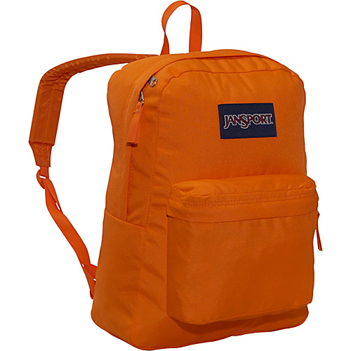 JanSport SuperBreak Backpack Orange Team - Backpacks, School & Day Hiking Backpacks