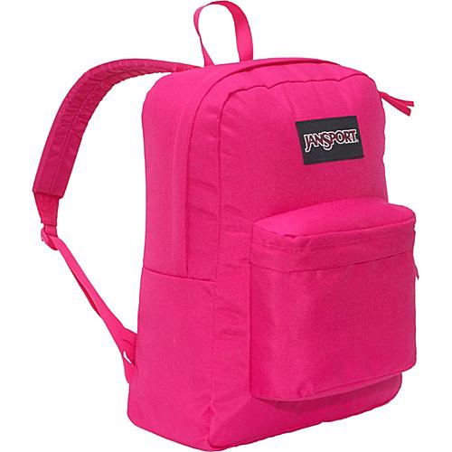 JanSport Black Label Superbreak Backpack Pink Tulip