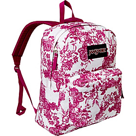 SuperBreak Berrylicious Vintage Floral Canvas - Black Label
