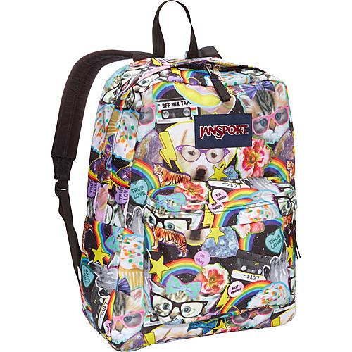 eBags Coupons for JanSport SuperBreak Backpack Multi Hairball ...